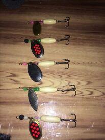 5 fishing mepps
