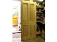 4 Panel Oak Interior Door