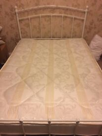 Mattress – Double bed sized: 135cm x 190cm. Bedmaster Star Spring. Medium Support.