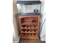 Fish tank 50 liters with stand