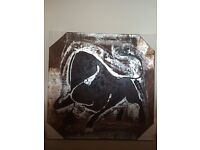 Bull Oil Painting on canvas