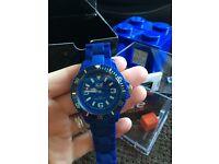 Boys/men's blue Ice Watch