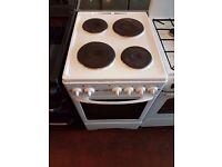 Electric Cooker - GLEN 50cm- Hotplate - White - Single Oven