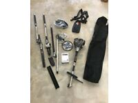Titan Petrol 4 in 1 garden multi tool (strimmer / hedge cutter / chain saw)