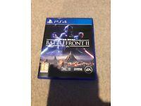 Star Wars battlefront 2 PS4 game