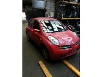 NISSAN MICRA PETROL BREAKING 2005 FOR SPARES 1X WHEEL NUT