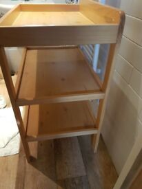 Used John Lewis changing table, good condition.