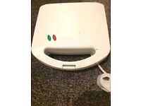 White small sandwich toaster