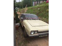 Scimitar classic car gte v6 barn find