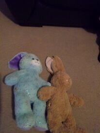 2 build a bear cuddly toys