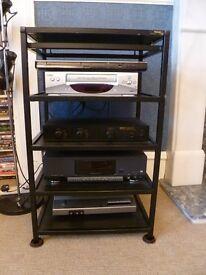 Target 5 shelf hi-fi stand