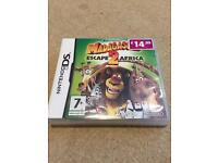 Nintendo DS game - Madagascar 2