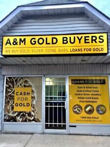 A&M Gold Buyers - Cash or Loan for Gold