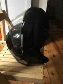 Black Schubeth C2 Motor cycle helmet
