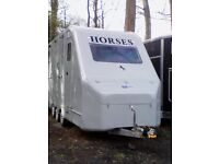 Equi Trek Star Treka Horse Trailer / Box..2004.up to 17.3h.large living. Good Condition Ready to Go.