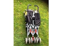 Maclaren Twin Stroller in excellent condition
