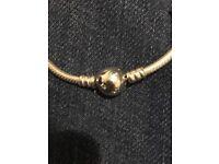 Disney Pandora bracelet with Miss Potts charm