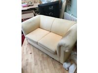 Free Two Seater Sofa - Great Re-Upholstery Project!