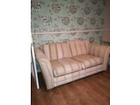 Free two sofas suite settees