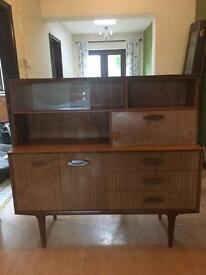 Mid century inspired sideboard