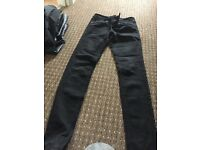 4 pairs Woman's black jeans