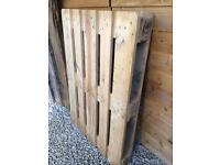 Clean Euro pallet, one available