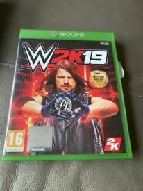 W2K20 Xbox one game.