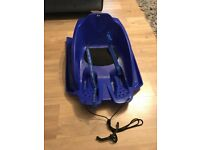 Infant toboggan sledge