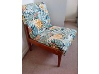 Gorgeous flowery chair