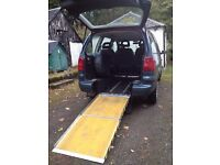 Volkswagan Sharan SE T Auto 5 Seater + Wheelchair Accessible Disabled Car