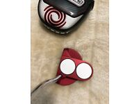 ODYSSEY TWO BALL O WORKS PUTTER RED