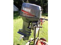 Yamaha 30hp 2-Stroke. Long Shaft, Tiller Control. Auto-Lube. Superb condition.