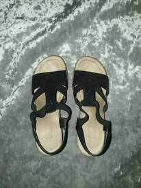 Reiker sandals sz 6 worn once