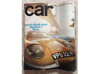 car Magazine - 221 issues from 1968 to 2016.