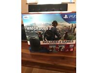PS4 slim 500gb with controller and 2 games all brand new box sealed