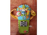Child entertainer for car seat