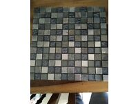3 sheets of mosaic tiles