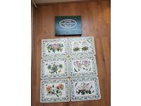 Portmeirion Botanic set of 6 rectangular placemats