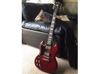 Epiphone SG Pro Cherry Left handed - Electric Guitar