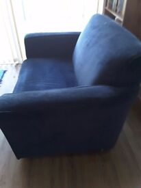 Habitat blue sofa bed