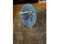 Baby bouncer and baby seat