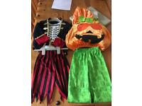 Halloween costume ages 3-4 & 1-2 years £5 for both bargain