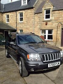 Jeep Grand Cherokee 4.7 V8 Limited 5d Auto with LPG Conversion