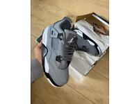 Jordan retro 4 size 7.5