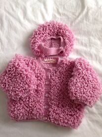 Hand knitted Loopy Jacket