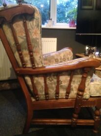 2seater and 2single ercol chairs