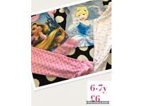 Girls 6-7y Disney pjs
