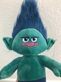 Brand New, Build a Bear RARE Grumpy Branch Troll, with sounds. BAB, DreamWorks.