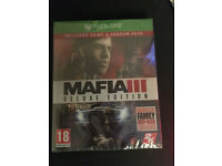 Mafia 3 Deluxe Edition, Brand new and sealed Xbox One