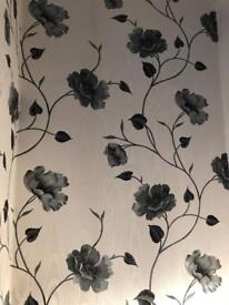 Left over decorating wallpaper roll